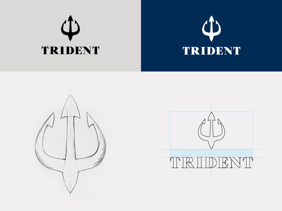 trident-logo-construction